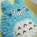 トトロ立体ケーキ
