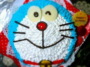 ドラえもん、キャラクターケーキ