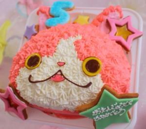 妖怪ウォッチの立体ケーキ