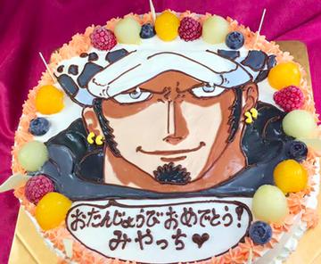 トラファルガー・ロー キャラクターケーキ