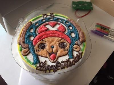 チョッパー キャラクターケーキ