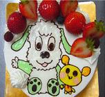いないいないばぁっ キャラクターケーキ
