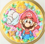 マリオのキャラクターケーキ